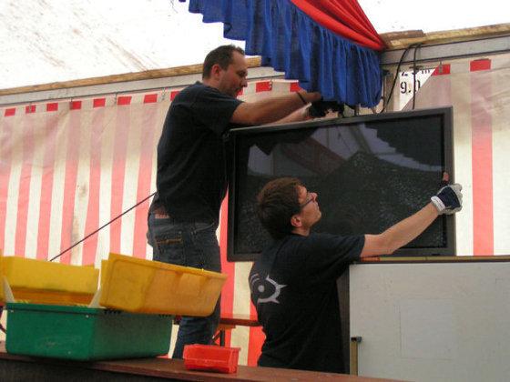 Festaufbau2011